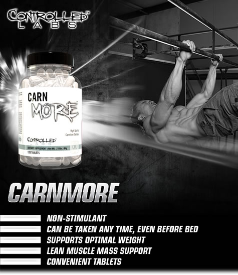 CarnMore-Muscle recovery hormonal enhancement