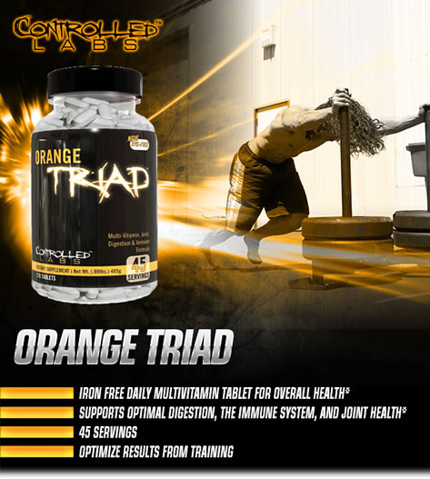Orange Triad Best Supplement for Serious Athletes